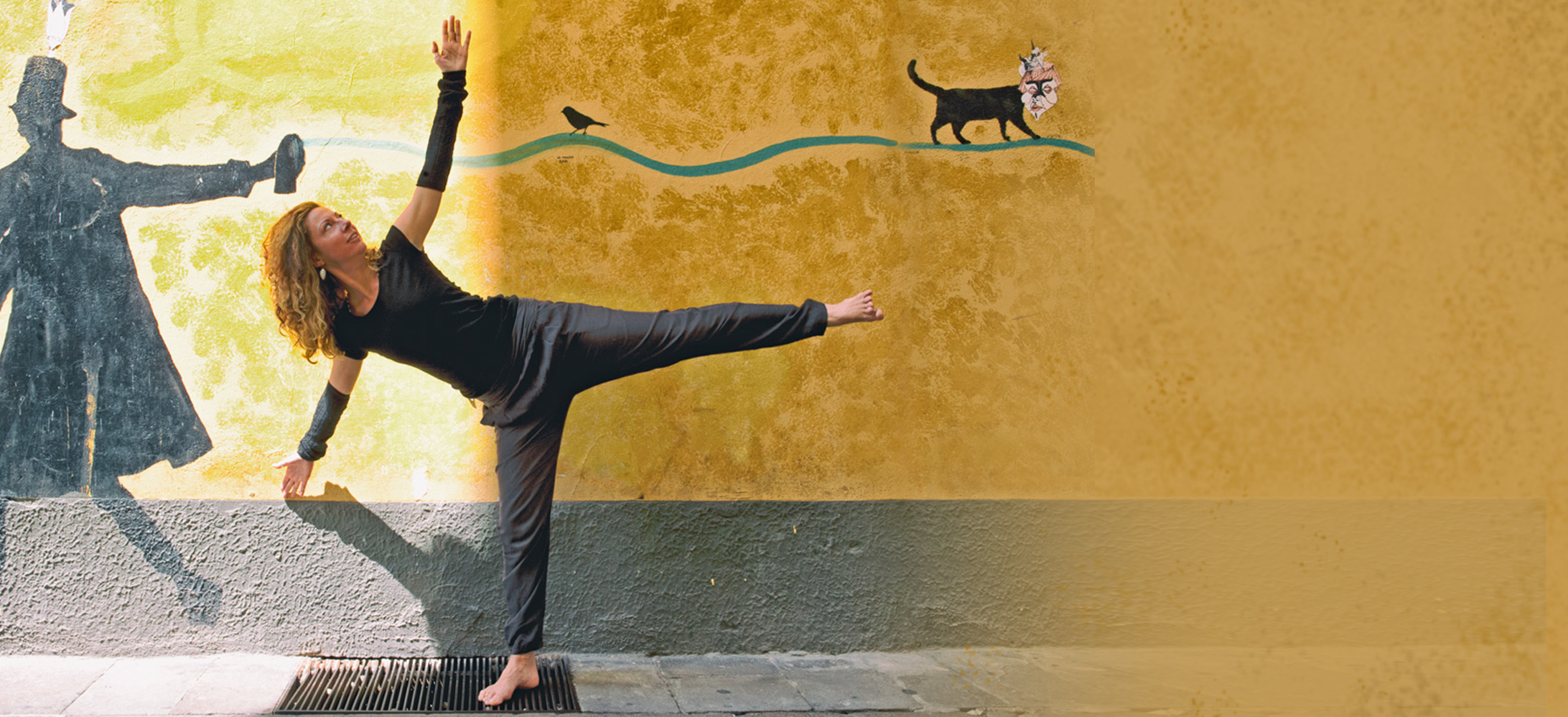 Laura Voltolina insegnante Yoga